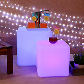 Color Changing LED Cube with Remote