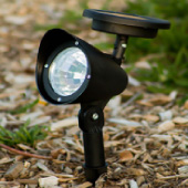 LED Solar Spot Landscape Light - 3 Pack