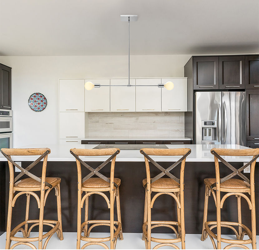 7 Kitchen Island Lighting Ideas Get This Look Ideas Inspiration Lights Com
