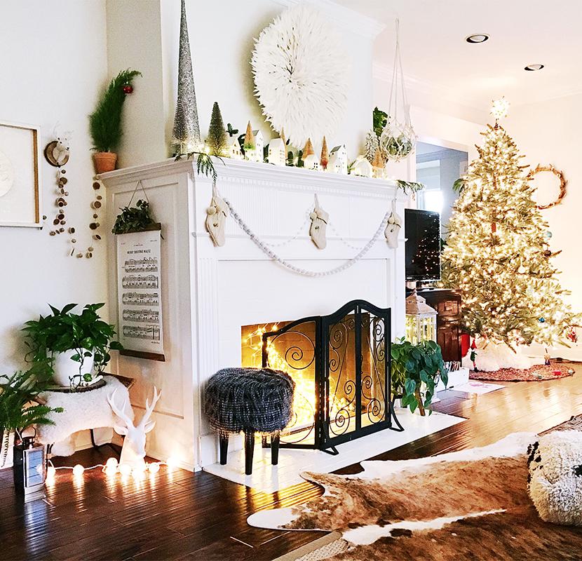 hot sale online 19c92 4f203 Fairy Light Holiday Fireplace All Aglow | Spotlight | Ideas ...