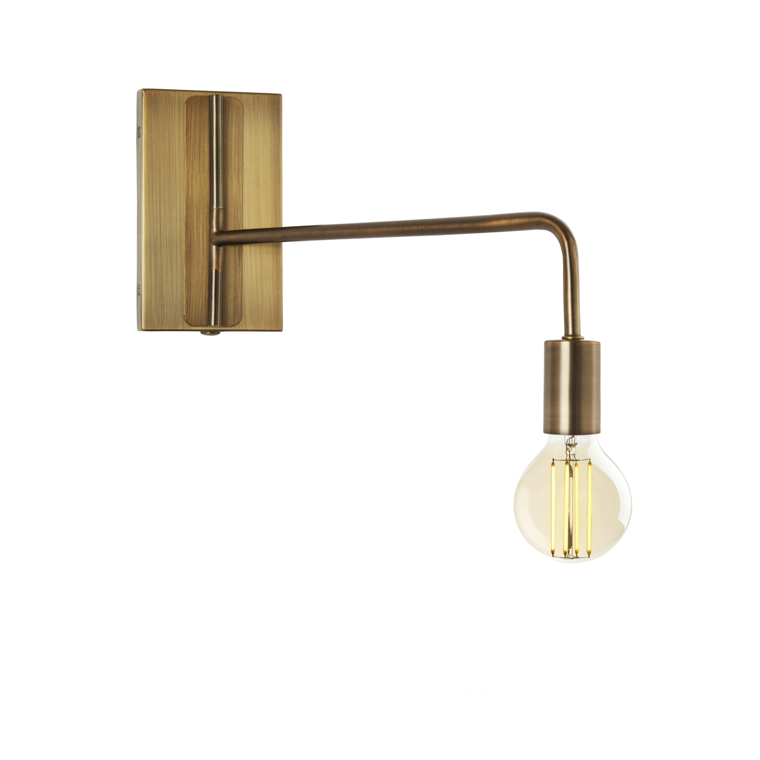 Prospect Swing Arm Wall Sconce, Bronze